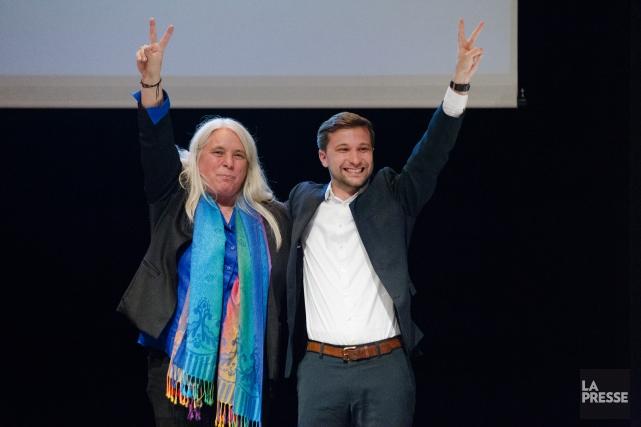 Manon Massé et Gabriel Nadeau-Dubois élus porte-parole de